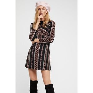 Free People Retro 60's Style Stella Dress Sz S